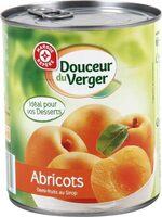 Abricots au sirop - Produit - fr