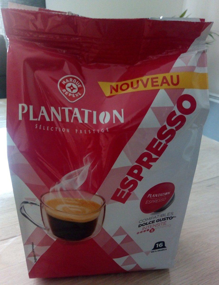 Capsules de café Dolce Gusto espresso x 16 - Ingrédients - fr
