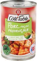 Porc à la provençale - Produit - fr