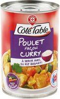 Poulet façon curry - Produit - fr