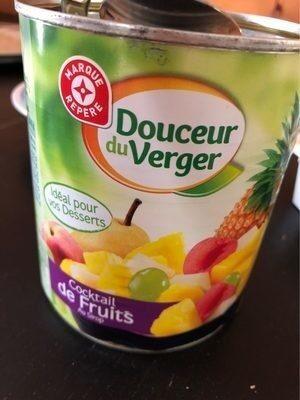 Cocktail de fruits au sirop - Prodotto - fr