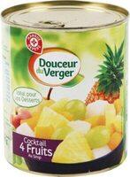 Cocktail 4 fruits au sirop - Produit - fr