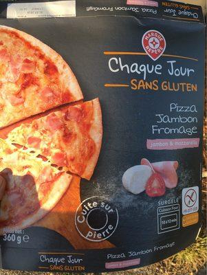 Pizza jambon fromage sans gluten - Produit
