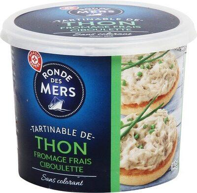 Tartinable de thon fromage frais ciboulette - Product - fr