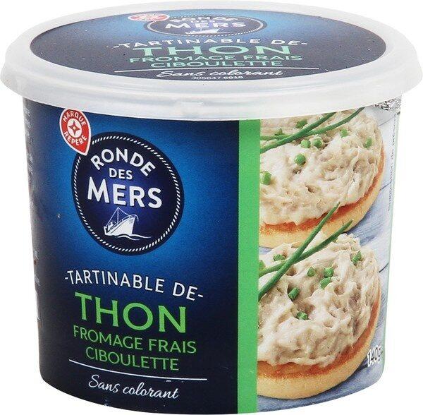 Tartinable de thon fromage frais ciboulette - Produit - fr