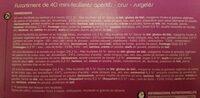 Mini-feuilletés apéritif x 40 - Ingrediënten - fr