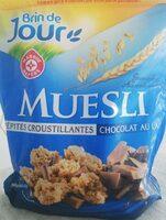 Muesli croustillant chocolat au lait - Produit - fr