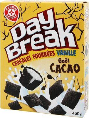 Céréales cacao fourrées vanille - Product - fr