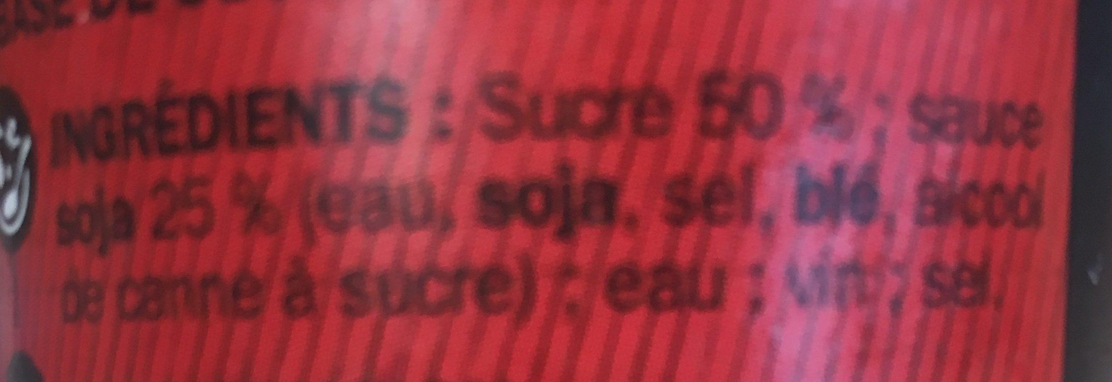 Sauce soja sucrée - Ingredients
