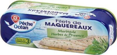 Filets maquereaux marinade herbes et Provence - Product