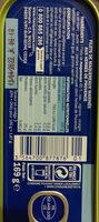 Filets maquereaux marinade herbes et Provence - Nutrition facts