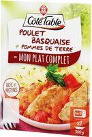 Poulet basquaise et pommes de terre - Produit - fr