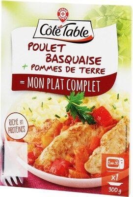 Poulet basquaise et pommes de terre - Produit