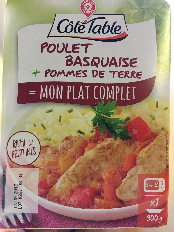 Poulet basquaise + pommes de terre - Product