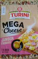 Pizza méga cheese jambon fromage - Product