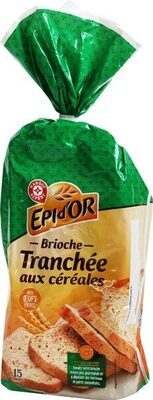 Brioche tranchée aux céréales - Produit