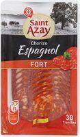 Chorizo espagnol fort 30 tranches - Product