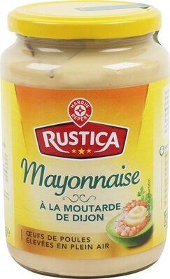 Mayonnaise à la moutarde de Dijon - bocal - Produit