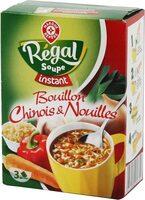 Bouillon chinois et nouilles instantané - Produit - fr