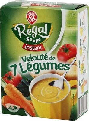 Velouté de légumes instantané - Produit - fr