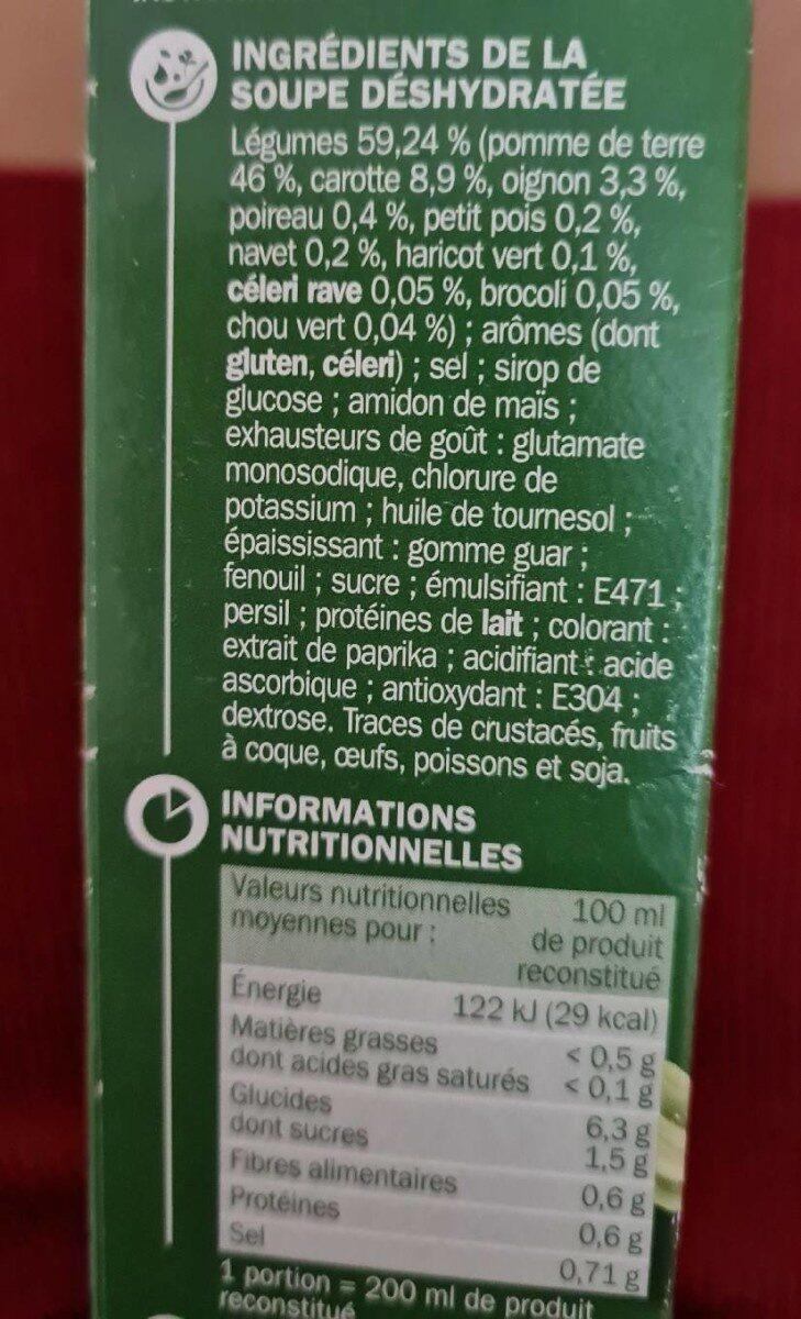 Mouliné 10 légumes instantané - Produit - fr