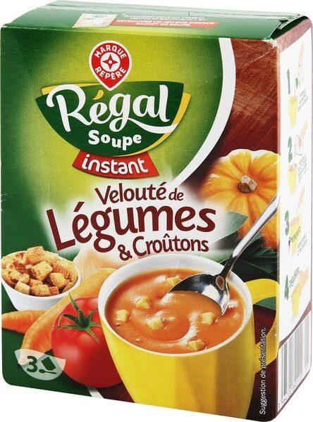 Velouté de légumes et croutons instantané - Produit - fr