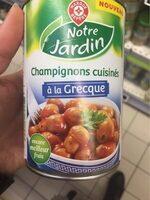 Champignons cuisinés à la grecque - Product - fr