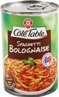 Spaghetti à la bolognaise - Product - fr