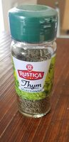 Thym - Nutrition facts - fr
