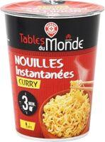 Nouilles asiatiques instantanées curry - cup - Product