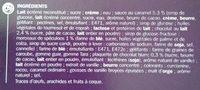 Vanille Speculoos Eskiss - Ingrédients