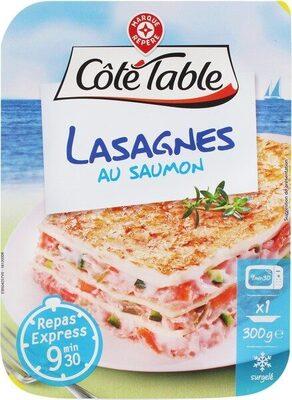 Lasagnes au saumon surgelées - Product - fr