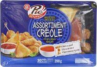 Assortiment créole et ses 2 sauces - Produit - fr