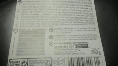 Assortiment créole et ses 2 sauces - Informations nutritionnelles - fr
