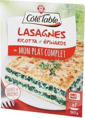 Lasagnes ricotta et épinard - Product