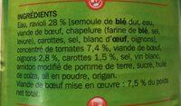 Ravioli pur boeuf - Ingrediënten