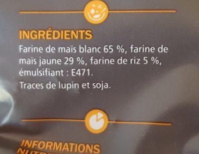 Penne sans gluten - Ingrédients - fr