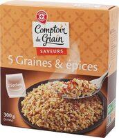 Melange 5 graines et epices - Product