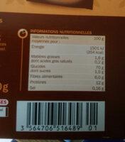 Melange 5 graines et epices - Voedingswaarden