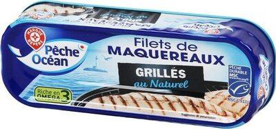 Filets de maquereaux grillés au naturel - Produkt - fr