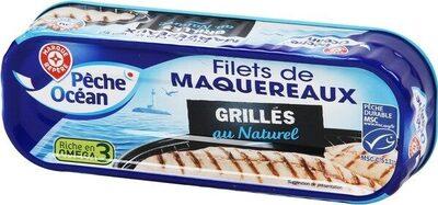 Filets de maquereaux grillés au naturel - Producto - fr