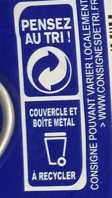 Filets de maquereaux grillés au naturel - Instrucciones de reciclaje y/o información de embalaje - fr