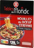 Nouilles au boeuf teriyaki et petits légumes - Produit - fr