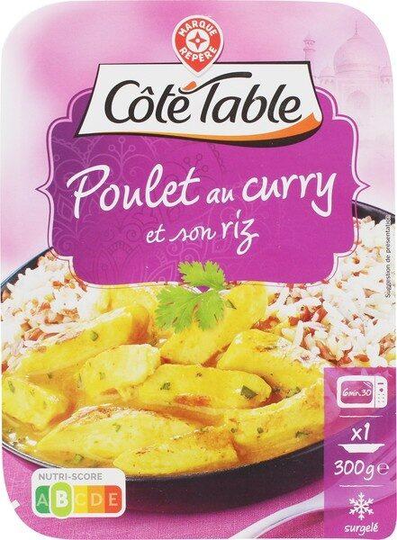 Poulet au curry et son duo de riz - Produit