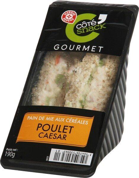 Sandwich Club Gourmet poulet caesar - Produit