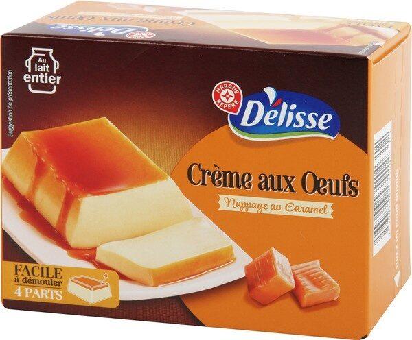 Crème aux oeufs sur lit de caramel - Produit - fr