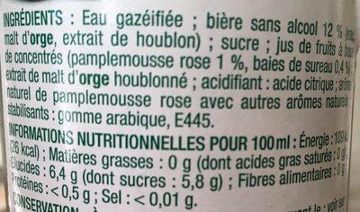 Softiz - Ingrediënten - fr