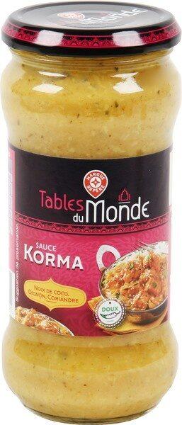 Sauce korma - Product - fr