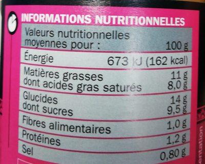 Sauce korma - Ingrediënten - fr