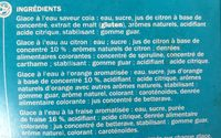 Assortiment callipos tub' x 8 - Ingrédients - fr
